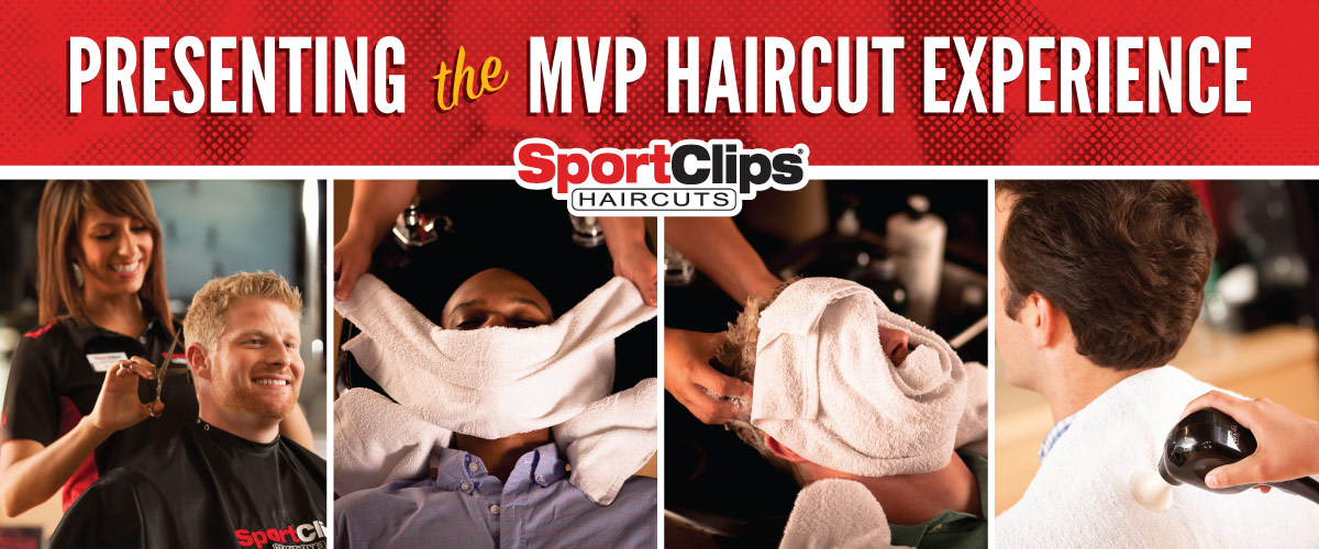 The Sport Clips Haircuts of Conway MVP Haircut Experience